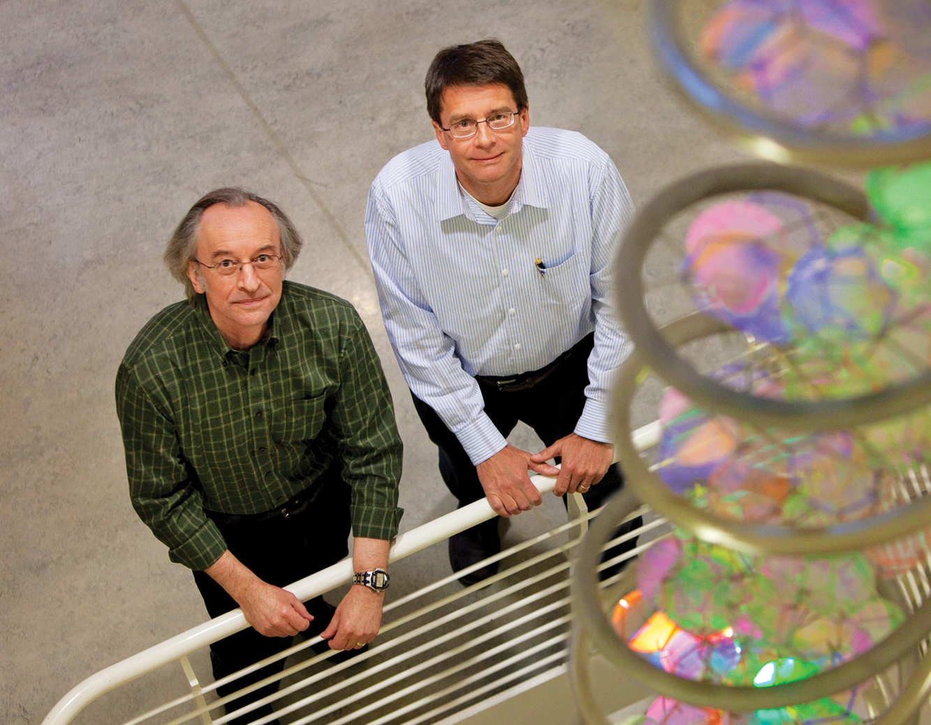 College of Biological Sciences Professors Stephen Kowalczykowski and Wolf-Dietrich Heyer