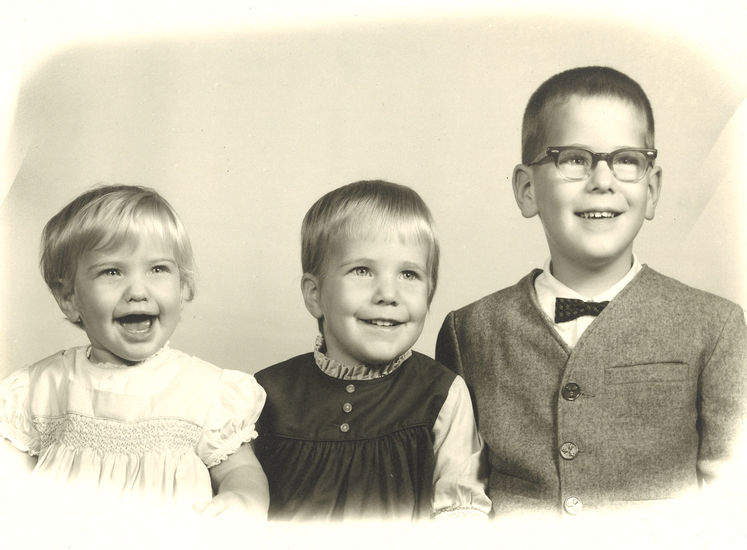 Advances in recognizing inherited diseases like galactosemia allowed Christine Winey (on left) to grow up happy and healthy with her siblings Karen, in the middle, and Mark, on the right. Courtesy photo