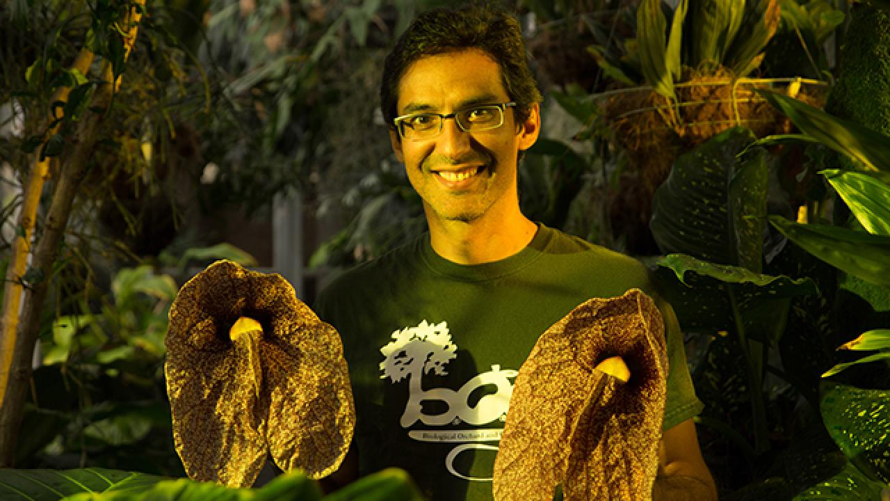 Ernesto Sandoval, \'96 B.S. in Plant Biology, Manager and Curator at ...