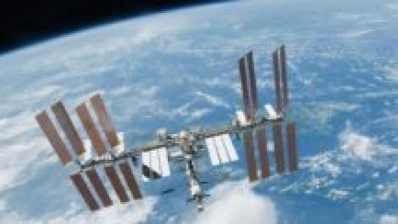 "The International Space Station is interesting to scientists studying the microbial ecology of buildings because it is a ""building"" with very few ways to bring microbes in or out."