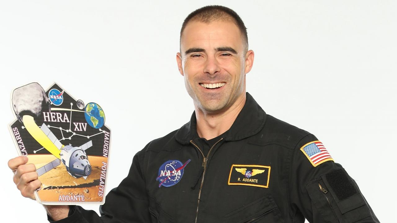 Participating as a crew member on the NASA Human Exploration Research Analog project brought Richard Addante one step closer to his lifelong dream of becoming an astronaut. Michael Moody