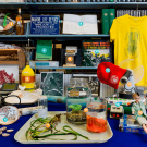 We gathered together some of the objects representing the past and present of the Bodega Marine Laboratory. Take a peek and see what objects you can find. David Slipher/UC Davis