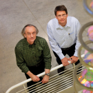 College of Biological Sciences Professors Stephen Kowalczykowski and Wolf-Dietrich Heyer have dedicated their research careers to understanding the genomics of cancer. UC Davis