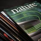 A stack of Nature journals