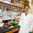 Patrick Shih in laboratory
