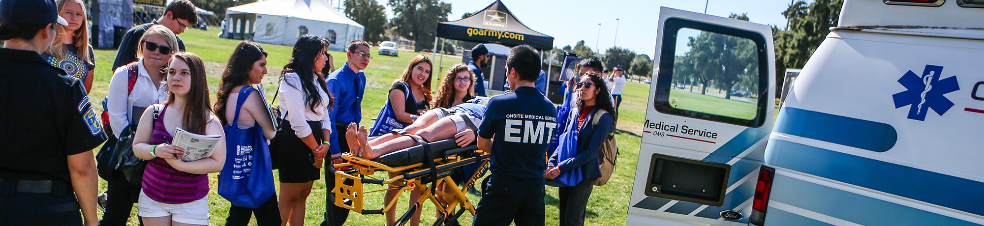 Pre-Health Conference EMT Demonstration